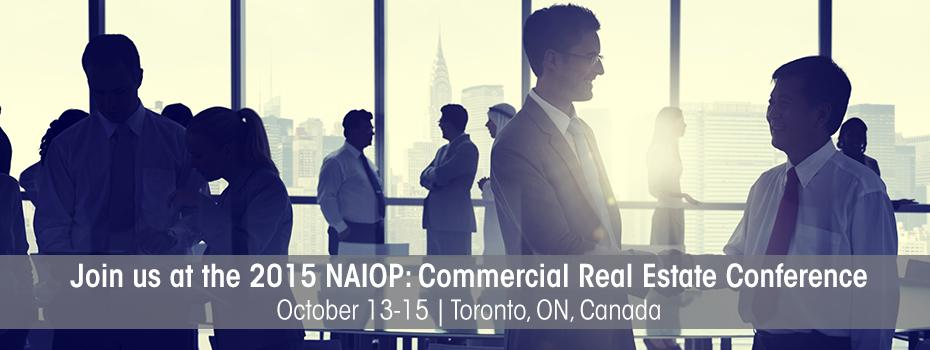 NAIOP: Commercial Real Estate Conference Banner Image