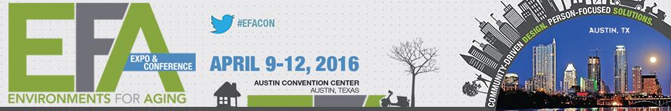 2016 Environments for Aging Expo & Conference Banner Image