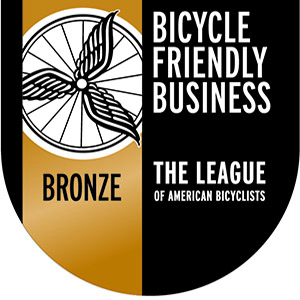 EUA named a Bronze Bicycle Friendly Business by the League of American Bicyclists Slide Image