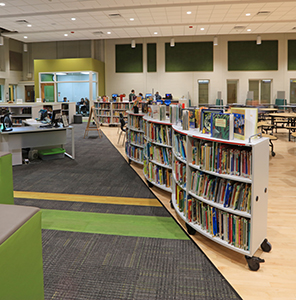 Raymond Elementary School Named K12 Project of the Year by Milliken Floor Company Slide Image