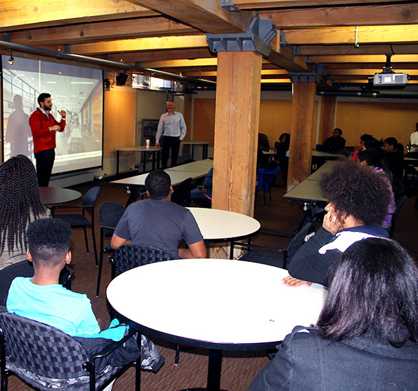 Be the Spark Tours with Rufus King Middle School slide