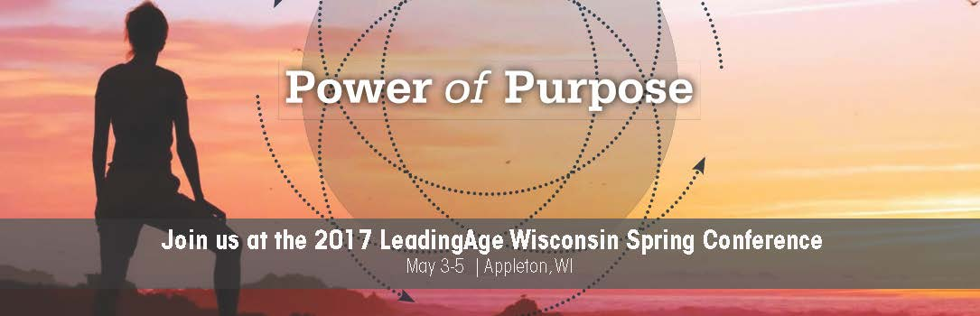 2017 LeadingAge WI Spring Conference Banner Image