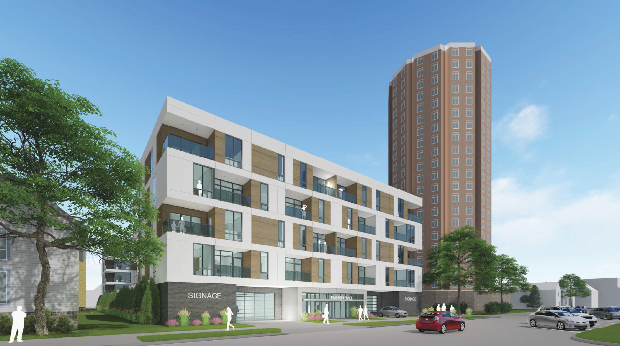 New Apartment Building for East Side Banner Image