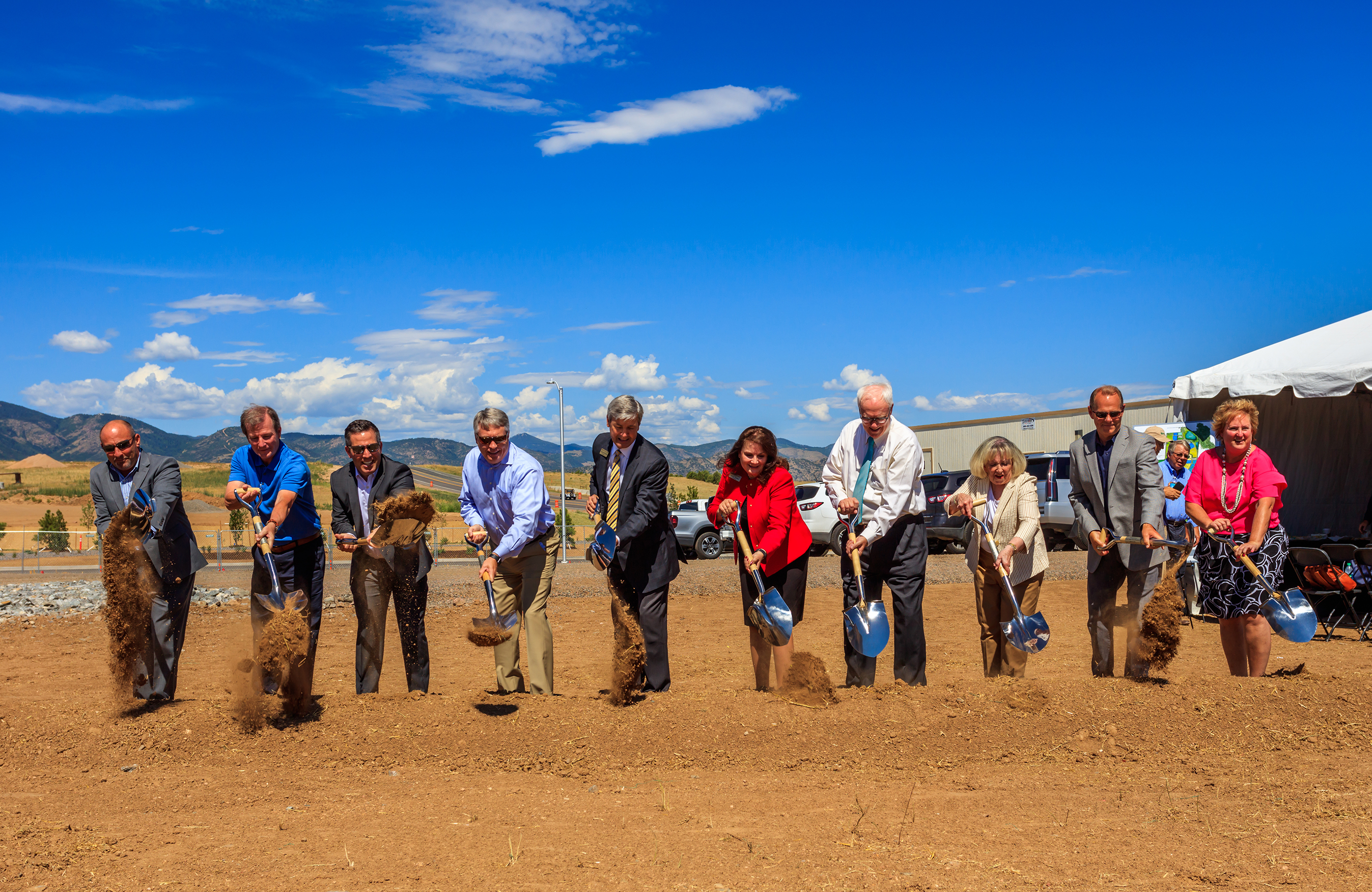 Sterling Ranch Development Continues as Civic Center Breaks Ground Banner Image