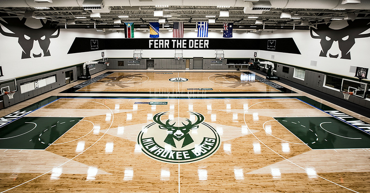 Froedtert & the Medical College of Wisconsin Sports Science Center Officially Opens As Milwaukee Bucks New Training Center Banner Image