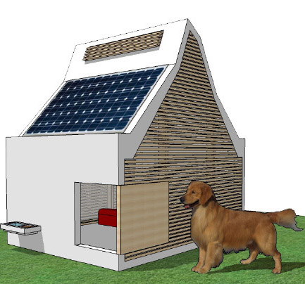 Vote Now for BurkettEUA's Energy Efficient Dog House  Slide Image