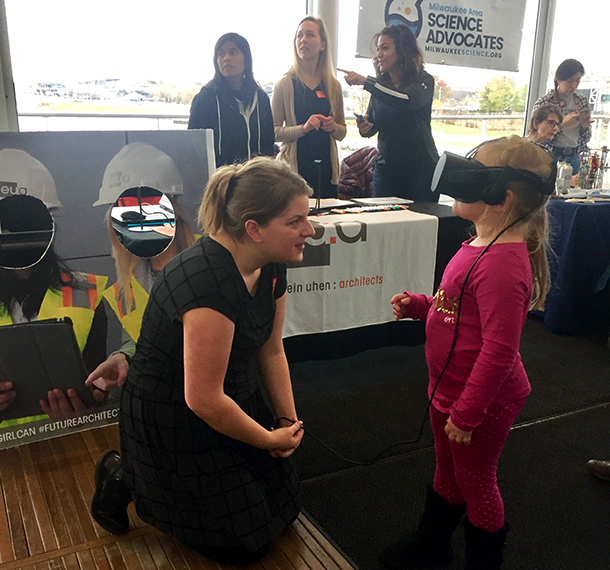 Discovery World Hosts Girls & STEM Day slide