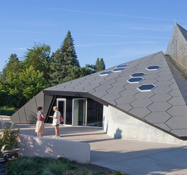 Denver Botanic Gardens Science Pyramid + Hive Cafe*