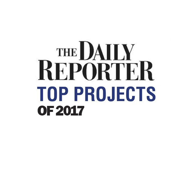 12 EUA Projects receive Daily Reporter Top Project Awards Slide Image