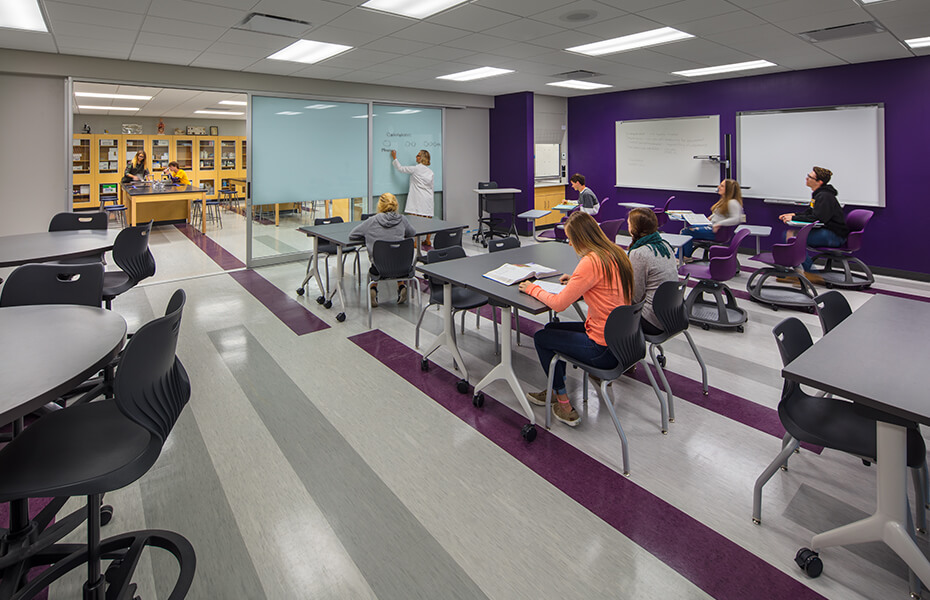 Teaching spaces ready for the future