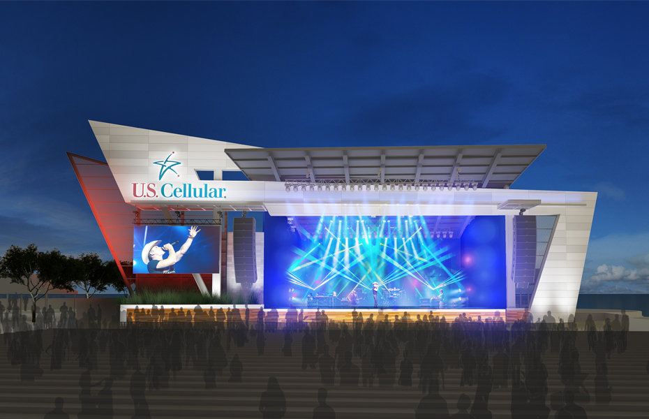 First look: Summerfest's newest stage big on technology, performance space Banner Image