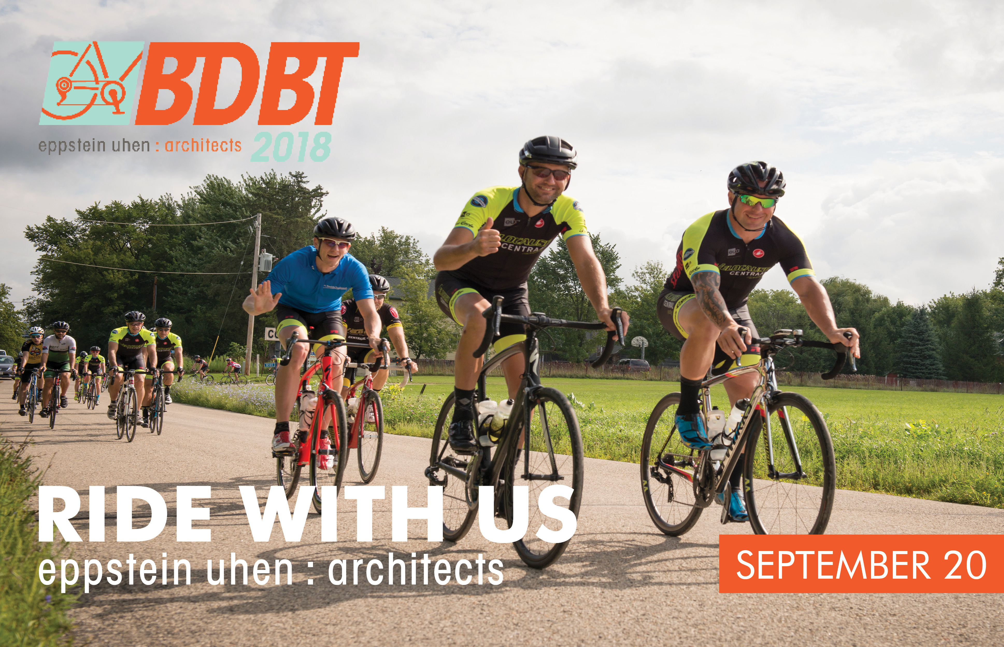 Eppstein Uhen Architects Holds 14th Annual Beyond Design Bike Tour (BDBT) Banner Image