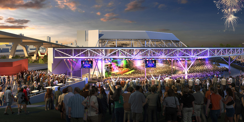 An annotated tour of the new Summerfest amphitheater with architect Greg Uhen Banner Image