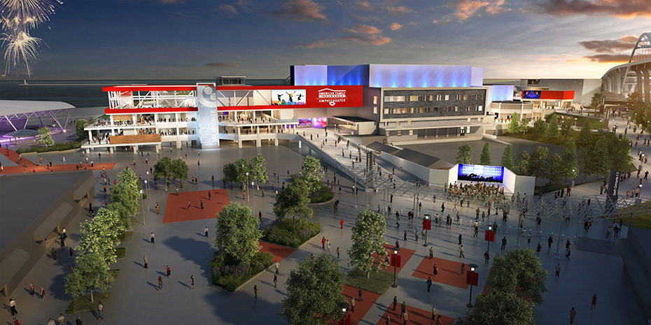 Summerfest unveils renderings for new American Family Insurance Amphitheater in 2020 Banner Image