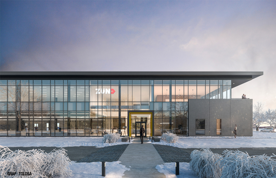 Zünd America Breaks Ground on new North American Headquarters  Banner Image
