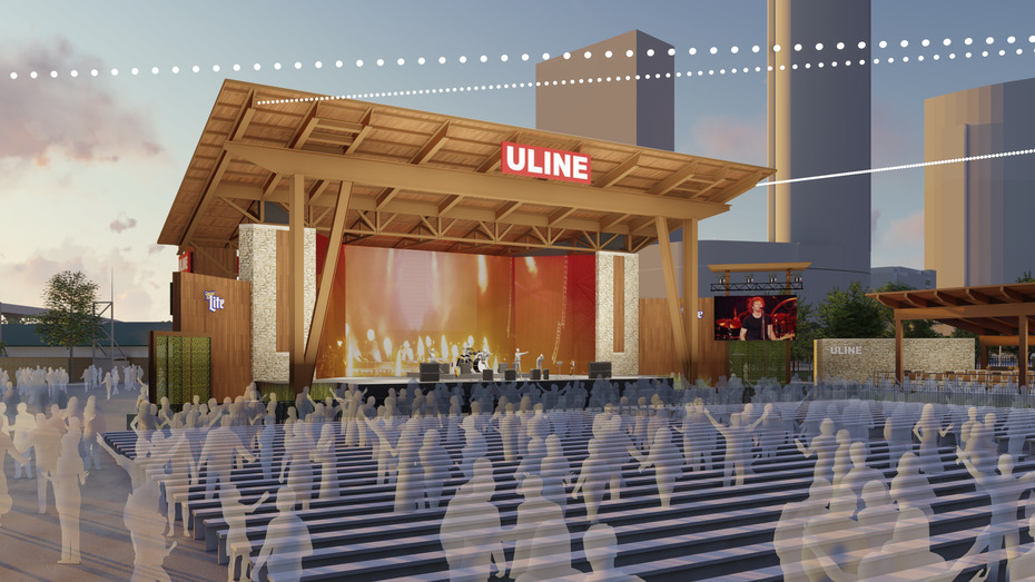 Check out the renderings for Summerfest's redesigned Uline Warehouse stage Banner Image