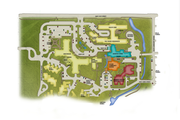 Senior Living Campus Repositioning slide