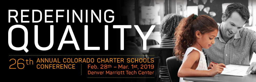 Colorado League of Charter Schools Conference 2019 Banner Image