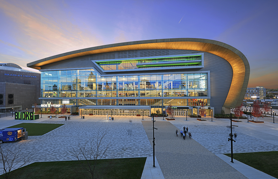 Fiserv Forum Achieves LEED Silver Certification Banner Image