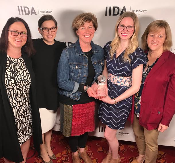EUA Projects Recognized at 2019 IIDA WI Awards slide