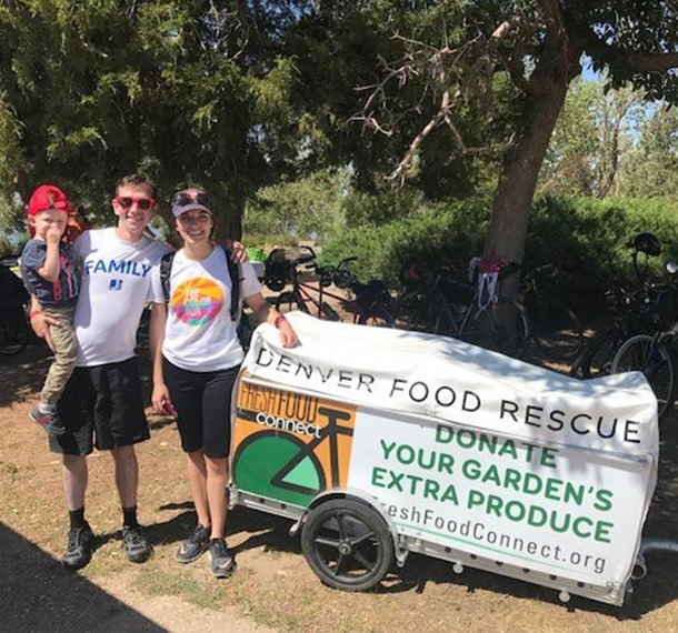EUA Participates in Denver Food Rescue Ride Slide Image