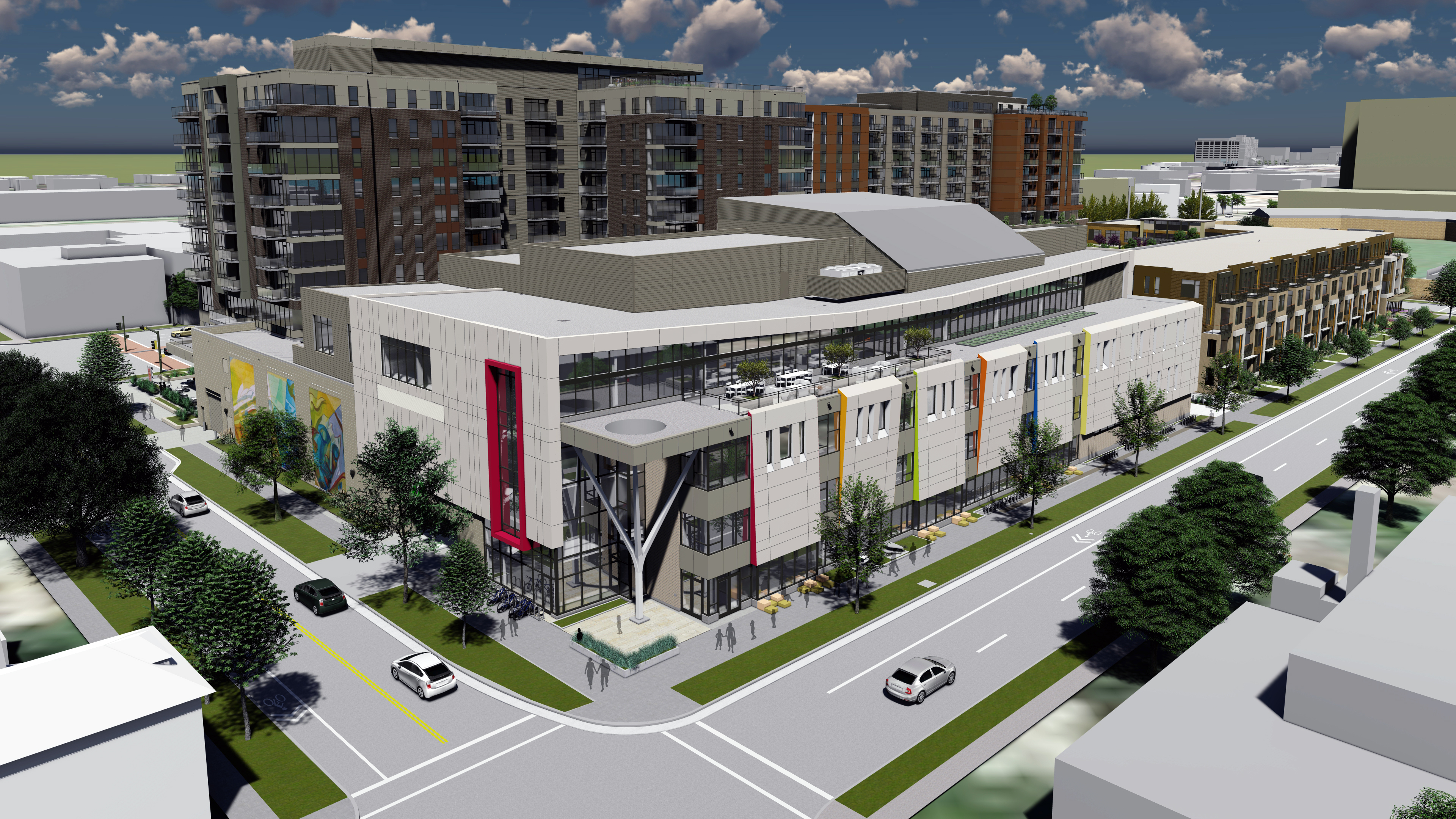Groundbreaking Event for Madison's new Youth Arts Center October 21, 2019 Slide Image