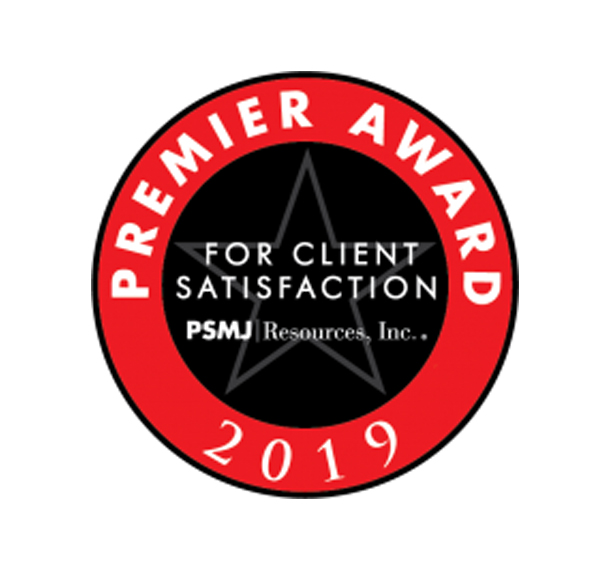 EUA Receives 2019 Premier Award for Client Satisfaction Slide Image
