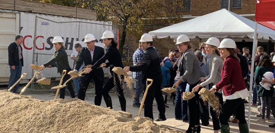 Groundbreaking Event for Madison's new Youth Arts Center  Banner Image