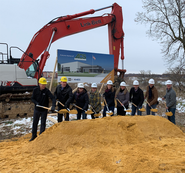 ACS Breaks Ground on New Headquarters Slide Image