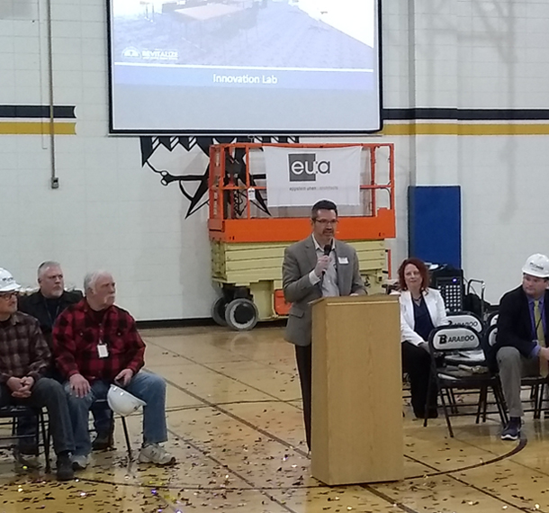 School District of Baraboo Celebrates Jack Young Middle School Groundbreaking slide