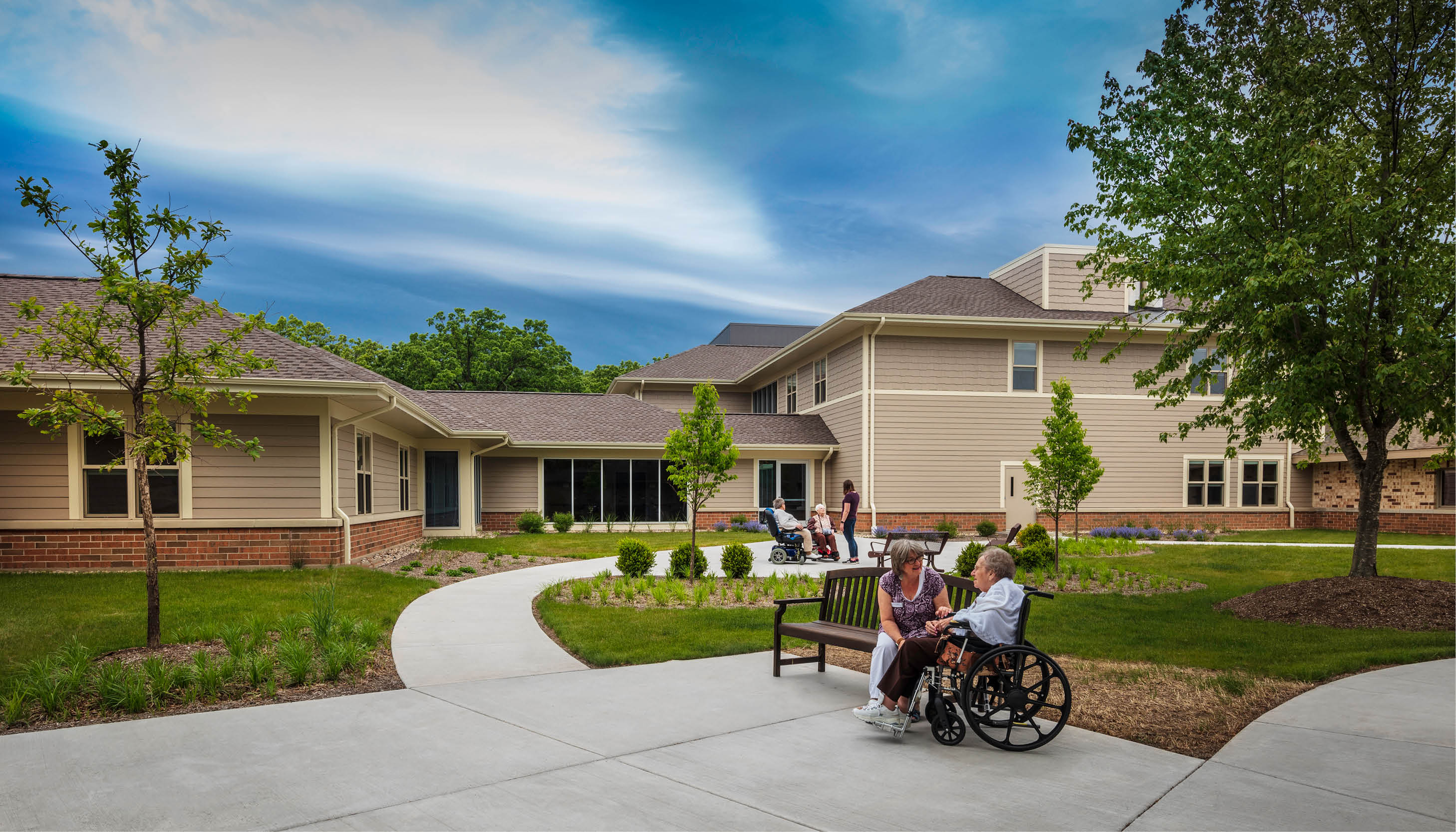 Kenosha County's Brookside Care Center lands on Newsweek list of top nursing homes Image