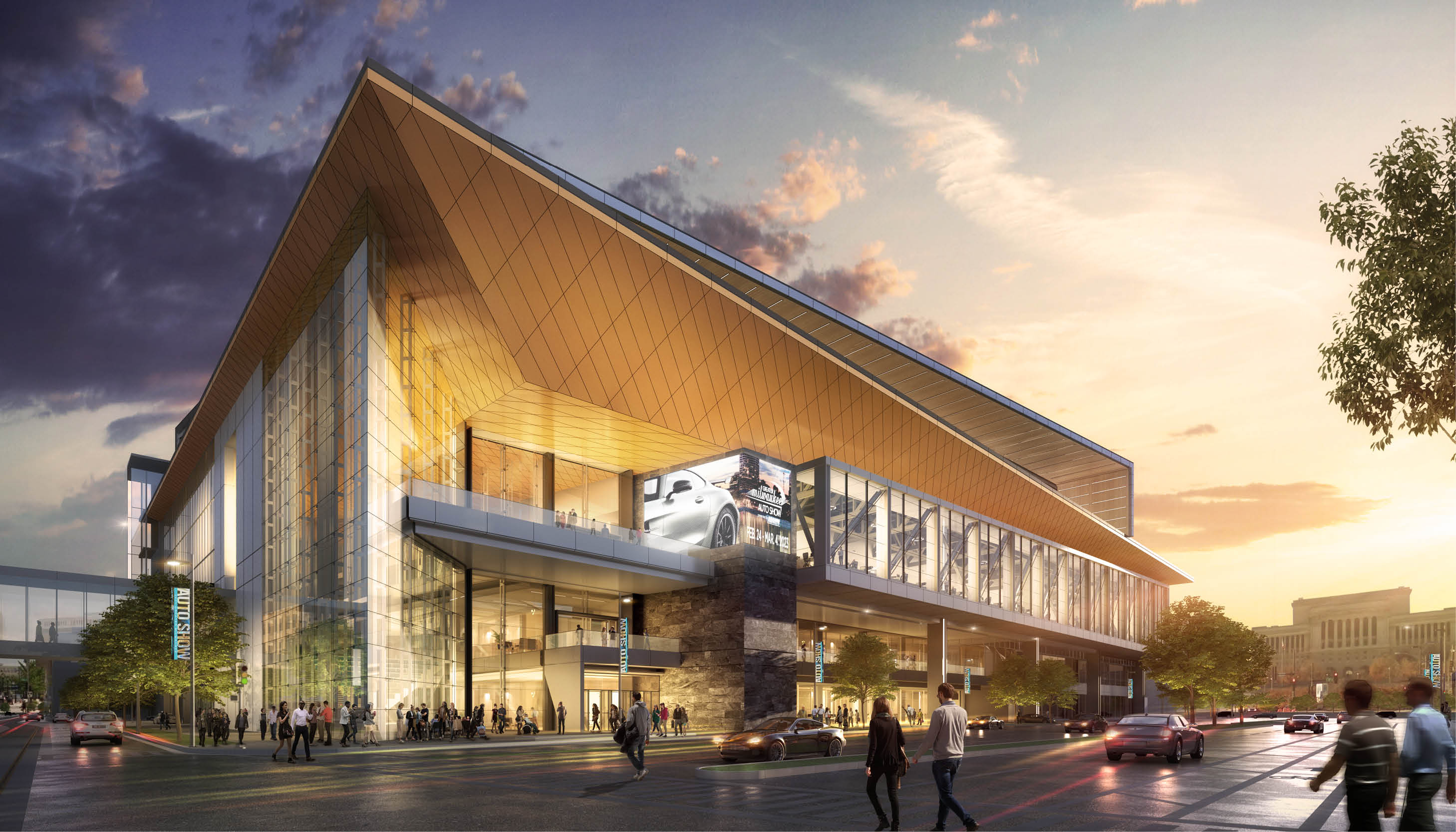 Wisconsin Center names architectural team for convention center project; CEO calls for gender-neutral restrooms Image