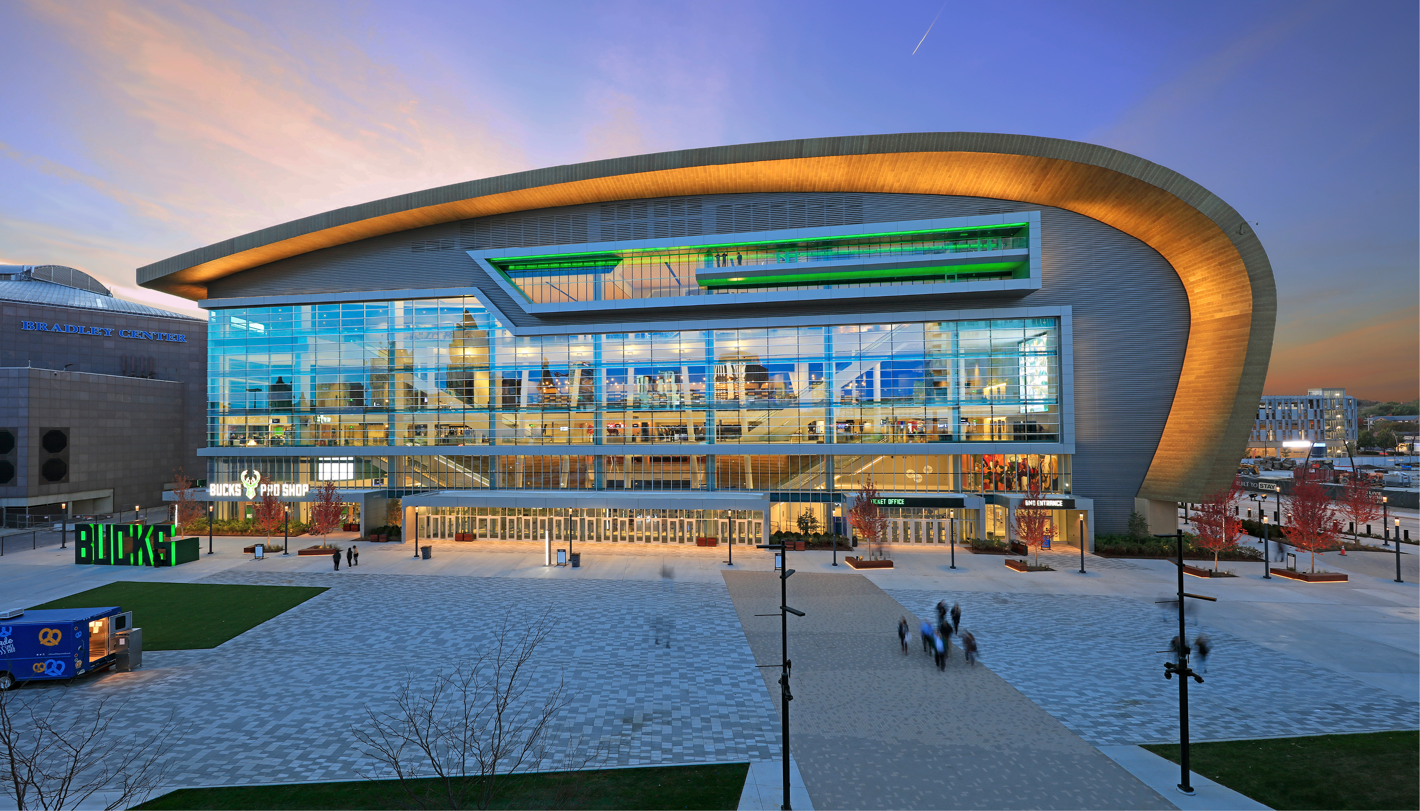 Fiserv Forum Design Team Honored for Use of Wisconsin Urban Wood Image