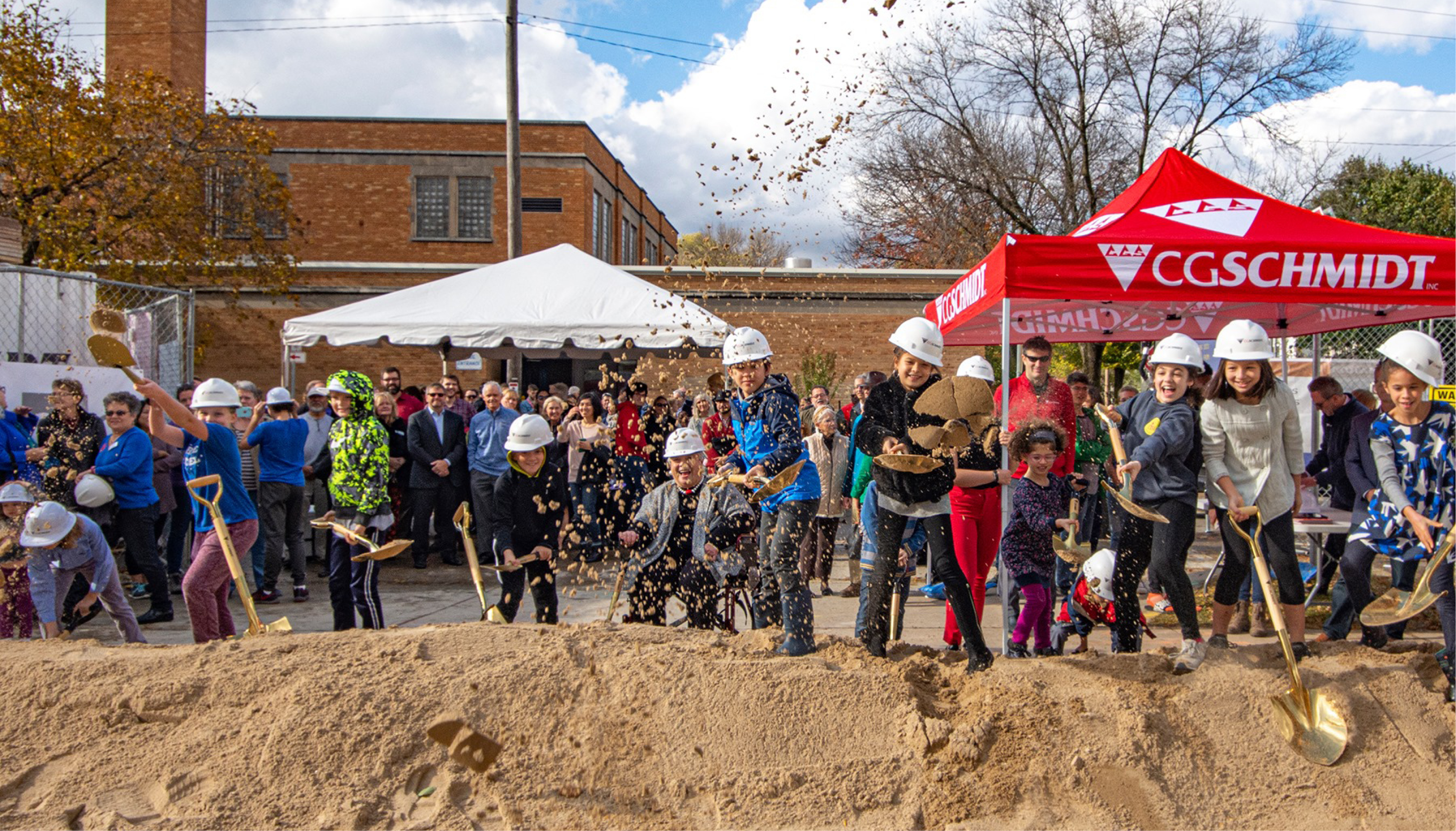 Groundbreaking Event for Madison's new Youth Arts Center Image