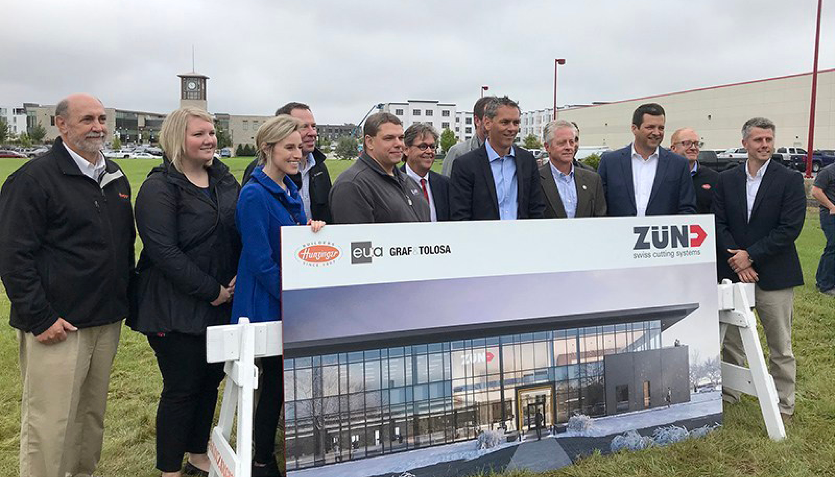 Zünd America Breaks Ground on new North American Headquarters Image
