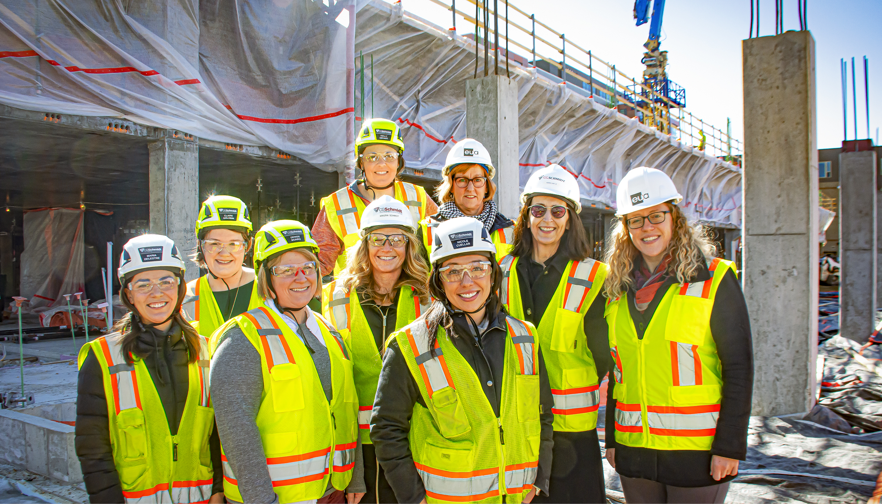 EUA Celebrates Women in Construction Week Image