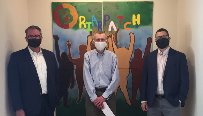 Eppstein Uhen Foundation Presents 2020 $5K Grant to Briarpatch Youth Services Image