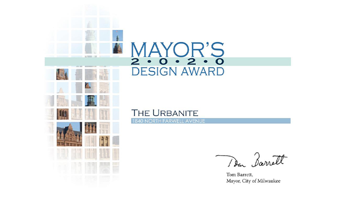 Urbanite Wins Mayor's Design Award Image