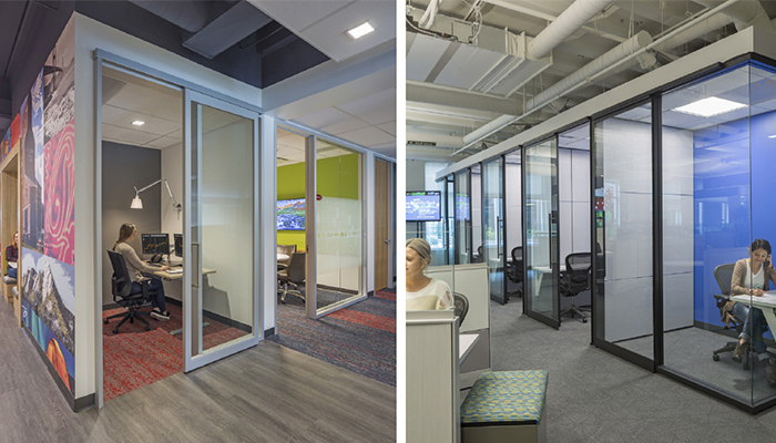 Maintaining Privacy in Open Office Setting Requires Creativity Image