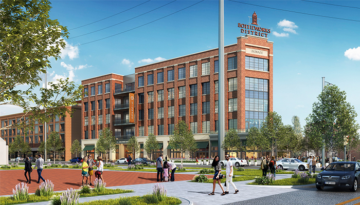 The Bottleworks District: The Modern-Day Revitalization Of An Iconic Structure Image