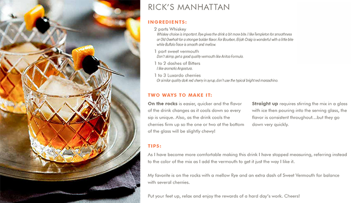 How to make a Manhattan - Rick Burkett Edition Image